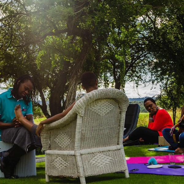 Fresh air massage at The Ranch Hotel Polokwane
