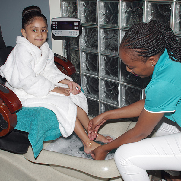 Foot massage at House of Asante Spa Polokwane