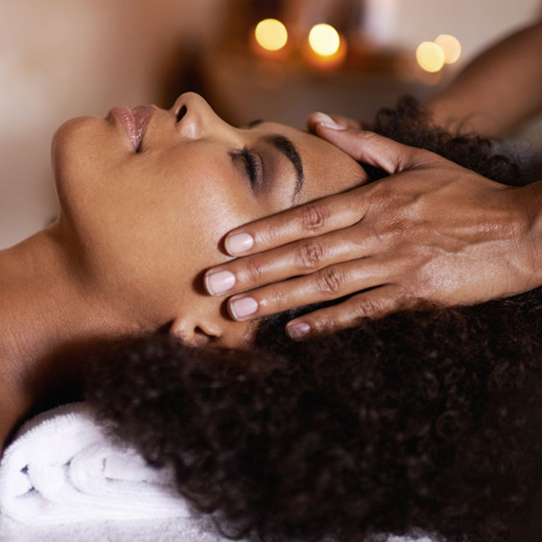 Head massage at Asante Spa Polokwane