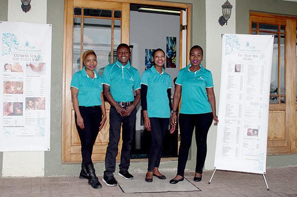 Asante hair salon Polokwane staff