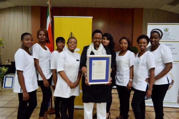 Asante Spa PMR Award