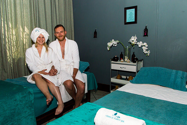 Couple at Asante Spa Polokwane